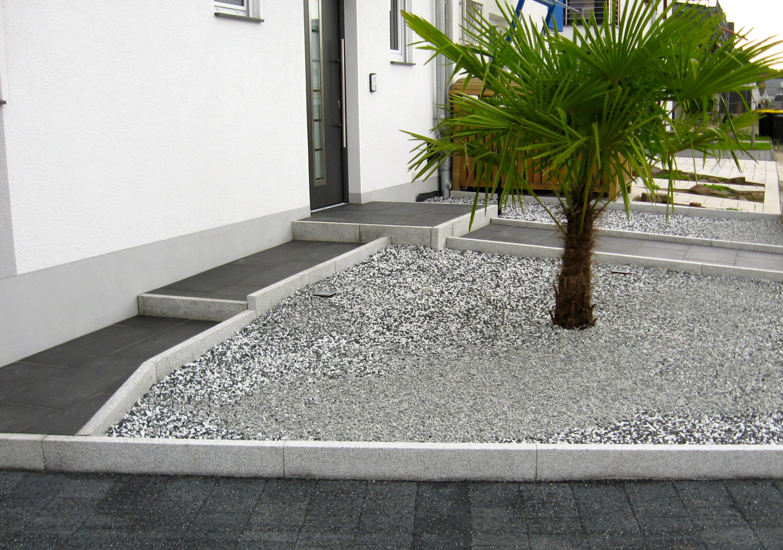 Vorgarten Anthrazit Granit