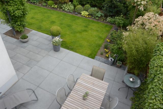 Terrasse Granitplatten